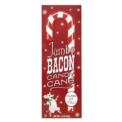 Jumbo Bacon Candy Cane