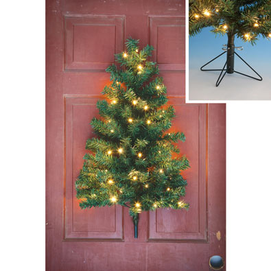 Lighted Hanging Christmas Tree