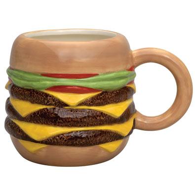 Triple Burger Mug