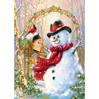 Letters To Frosty 500 Piece Jigsaw Puzzle