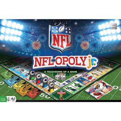 Sports NFL-opoly Junior Games