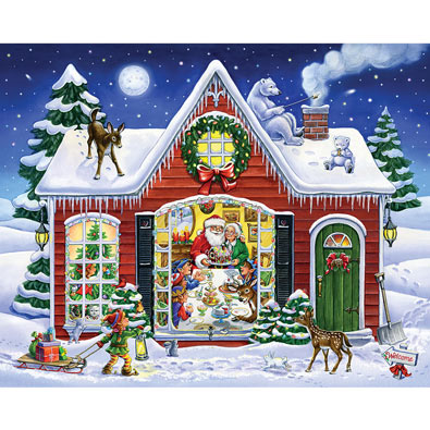 Christmas Feast 1000 Piece Jigsaw Puzzle