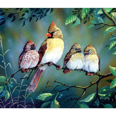 In Trouble Again 300 Large Piece Jigsaw Puzzle