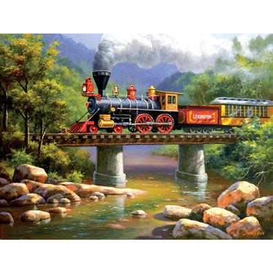 The Lexington Express 300 Large Piece Jigsaw Puzzle