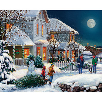 Holiday Walk 1000 Piece Jigsaw Puzzle