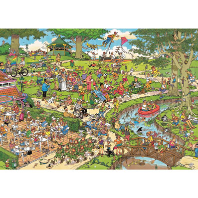 The Park 1000 Piece Jigsaw Puzzle