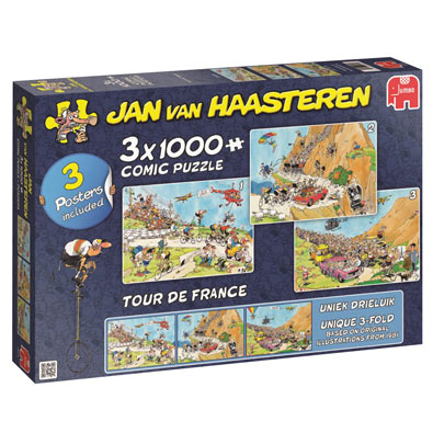 Tour de France 3 in 1 Multipack Set