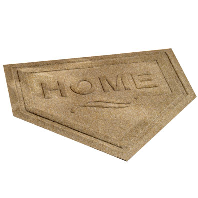 Home Plate Welcome Mat