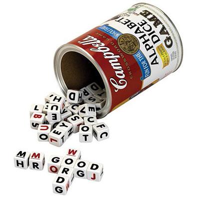 Campbell's<sup>&reg;</sup> Alphabet Dice Game