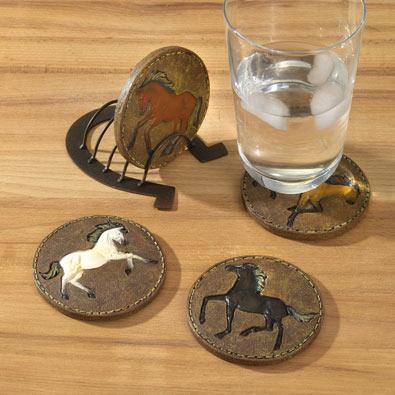Stallion Coaster Set