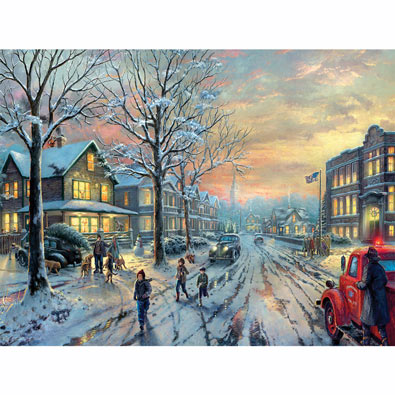 A Christmas Story 300 Large Piece Jigsaw Puzzle