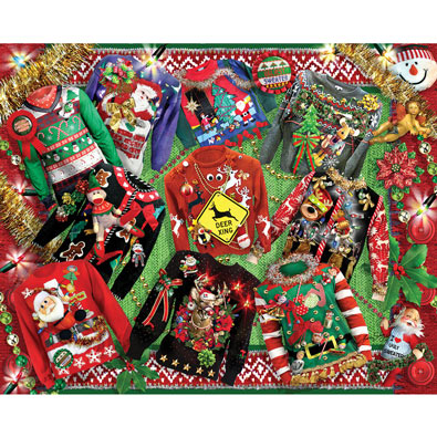 Ugly Christmas Sweaters 1000 Piece Jigsaw Puzzle