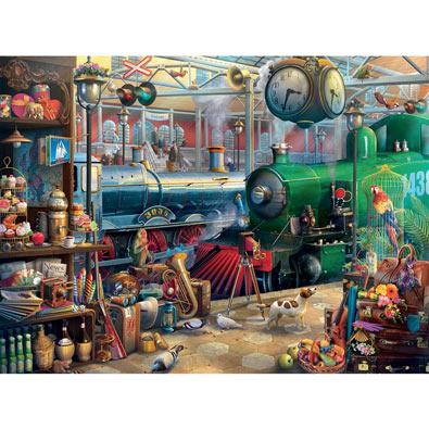 Train Station 1000 Piece Jigsaw Puzzle
