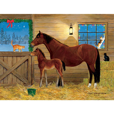 Barn Buddies 300 Large Piece Jigsaw Puzzle