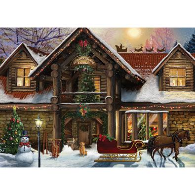 Snowcrest Lodge 1000 Piece Jigsaw Puzzle