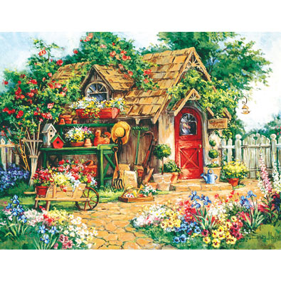 Gardeners Haven 300 Large Piece Jigsaw Puzzle