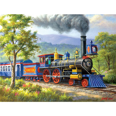 The Junction Express 300 Large Piece Jigsaw Puzzle