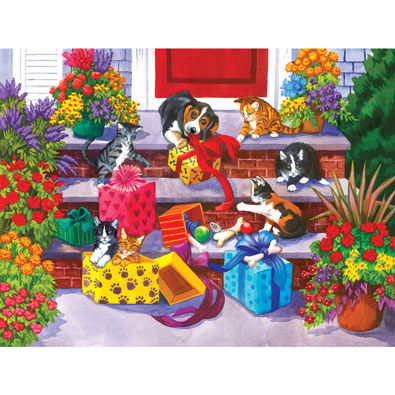 Time for Toys and Treats 300 Large Piece Jigsaw Puzzle