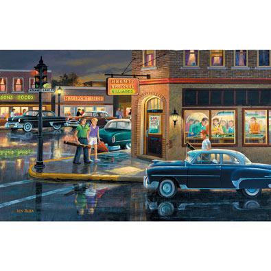 Small Town Saturday Night 550 Piece Jigsaw Puzzle