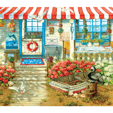 Hook, Line and Sinker 300 Large Piece Jigsaw Puzzle