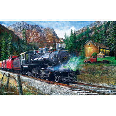 The Leinad Express 1000 Piece Jigsaw Puzzle