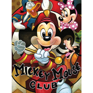 Mickey Mouse Club 550 Piece Jigsaw Puzzle