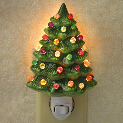 Ceramic Tree Nightlight