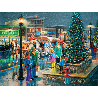 Holiday Lights 300 Large Piece Jigsaw Puzzle