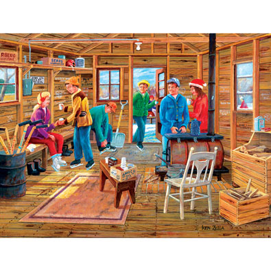 The Warming Shack 500 Piece Jigsaw Puzzle