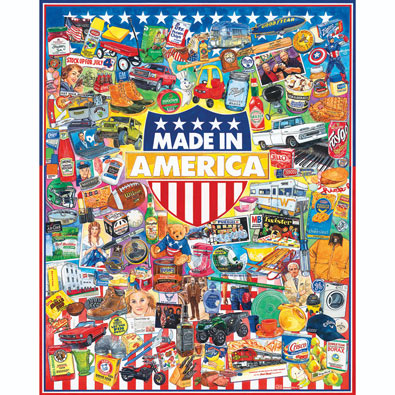Made in America 1000 Piece Jigsaw Puzzle