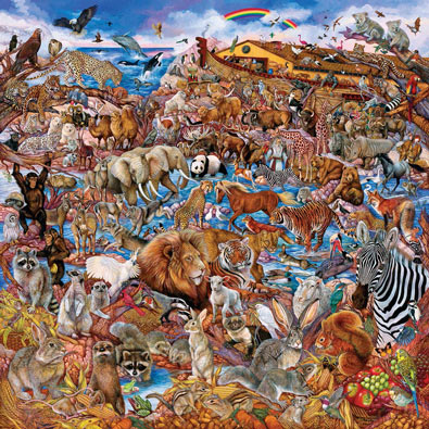 Noah's Clearing 500 Piece Jigsaw Puzzle