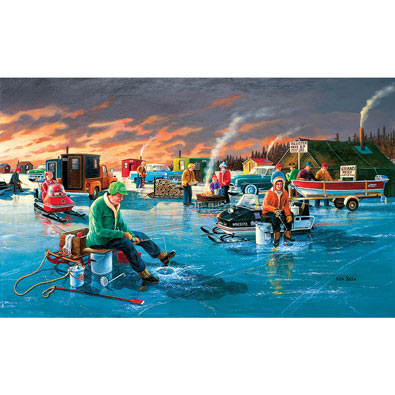 Fishing Contest 300 Large Piece Jigsaw Puzzle