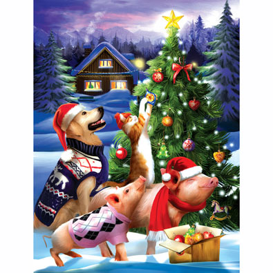 That Time of Year Again 300 Large Piece Jigsaw Puzzle