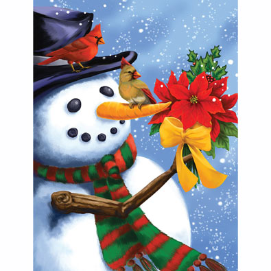 Frosty's Bouquet 300 Large Piece Jigsaw Puzzle