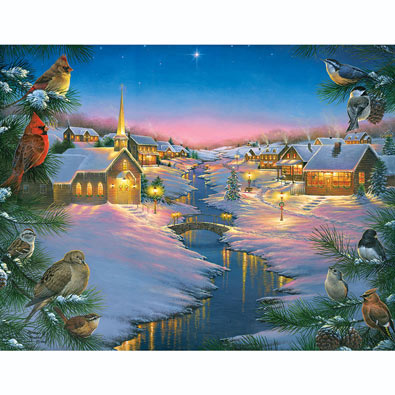 A Winter's Silent Night 1000 Piece Jigsaw Puzzle