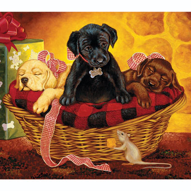 Peaceful Offering 300 Large Piece Jigsaw Puzzle