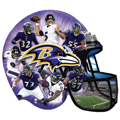 Ravens 500 Piece Shaped Jigsaw Puzzles