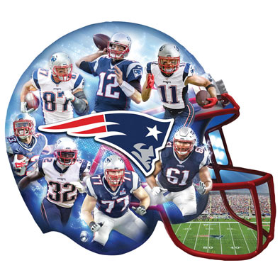 Patriots 500 Piece Shaped Jigsaw Puzzles