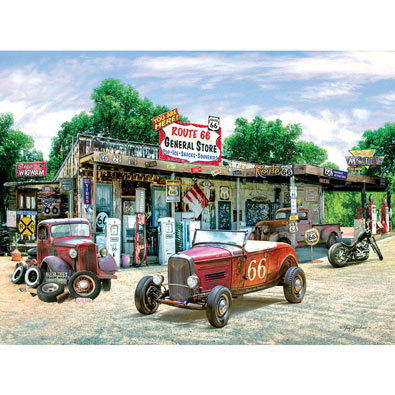 Route 66 General Store 300 Large Piece Jigsaw Puzzle