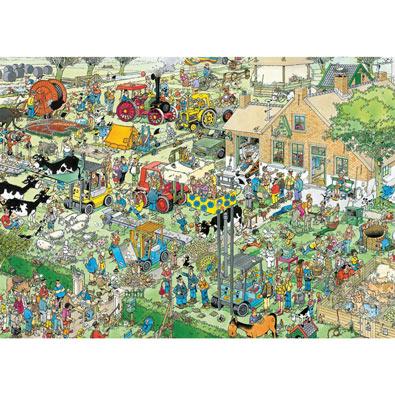 Farm Visit 1000 Piece Jigsaw Puzzle