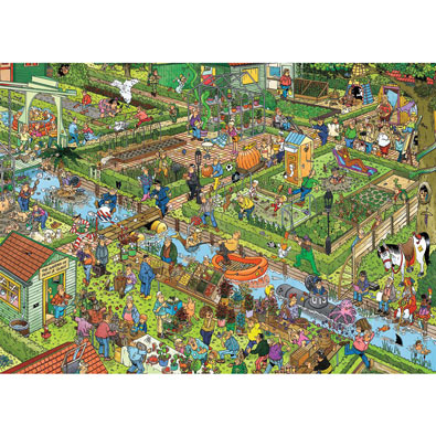 The Vegetable Garden 1000 Piece Jigsaw Puzzle