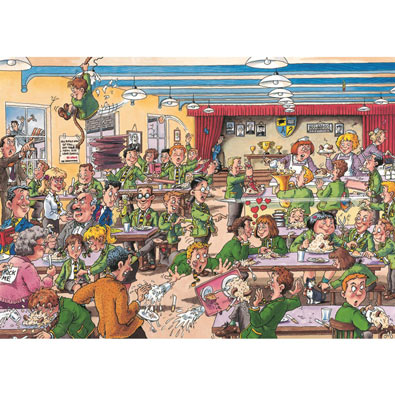 Best Days of Our Lives 1000 Piece Wasgij Jigsaw Puzzle