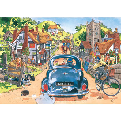 Sunday Drivers 1000 Piece Wasgij Jigsaw Puzzle
