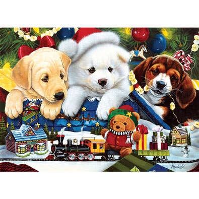 Toyland Pups 1000 Piece Jigsaw Puzzle