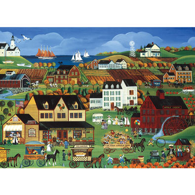 Cove Point Harvest Days 300 Large Piece Jigsaw Puzzle