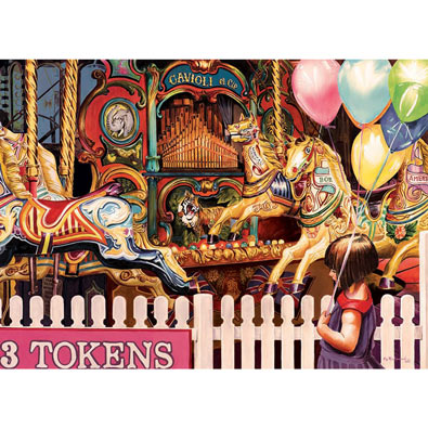 Three Tokens Required 1000 Piece Jigsaw Puzzle