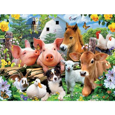 Farm Friends 550 Piece Jigsaw Puzzle