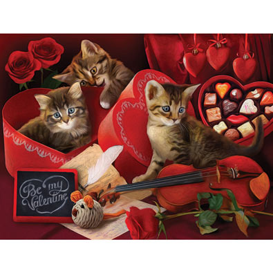 Be My Valentine 300 Large Piece Jigsaw Puzzle
