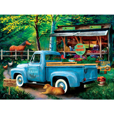 Woody's Farm Stand 1000 Piece Jigsaw Puzzle