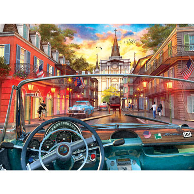 Window on New Orleans 500 Piece Jigsaw Puzzle